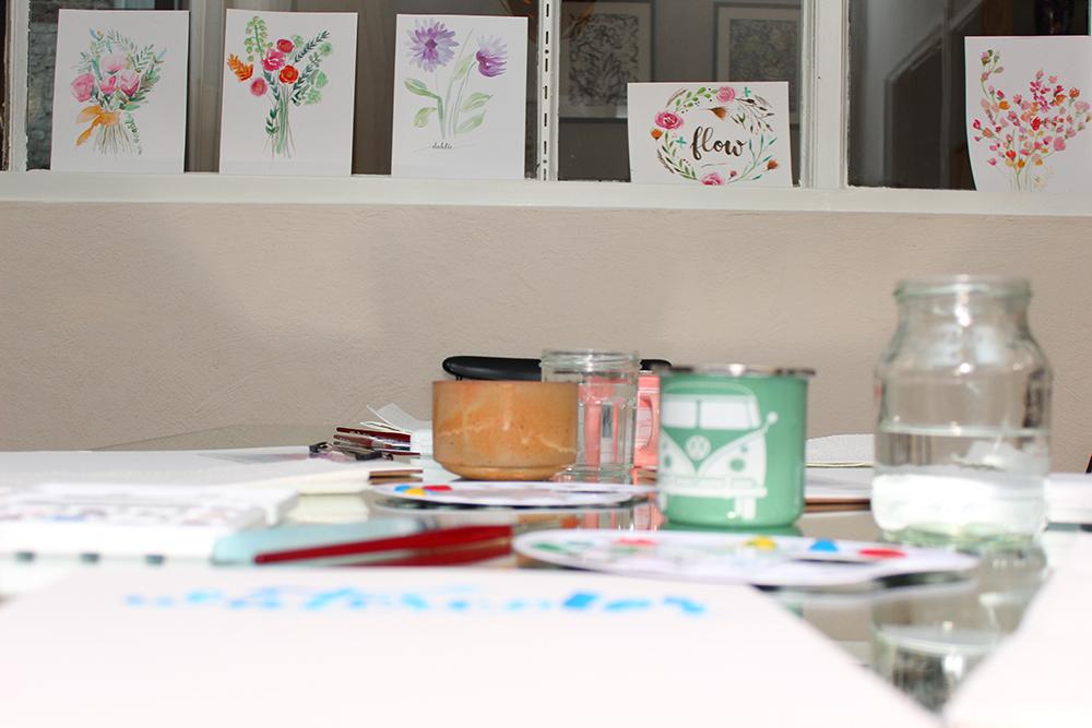 Watercolor Workshop Köln