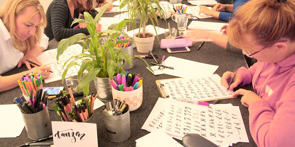 Workshop Koeln Lettering
