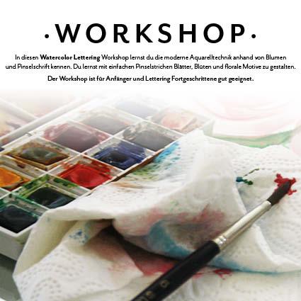 Workshop Watercolor Kreativ