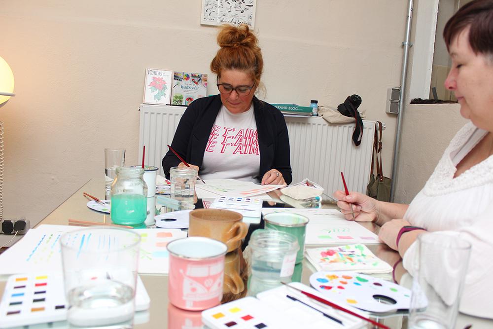 Watercolour Workshop Deutschland