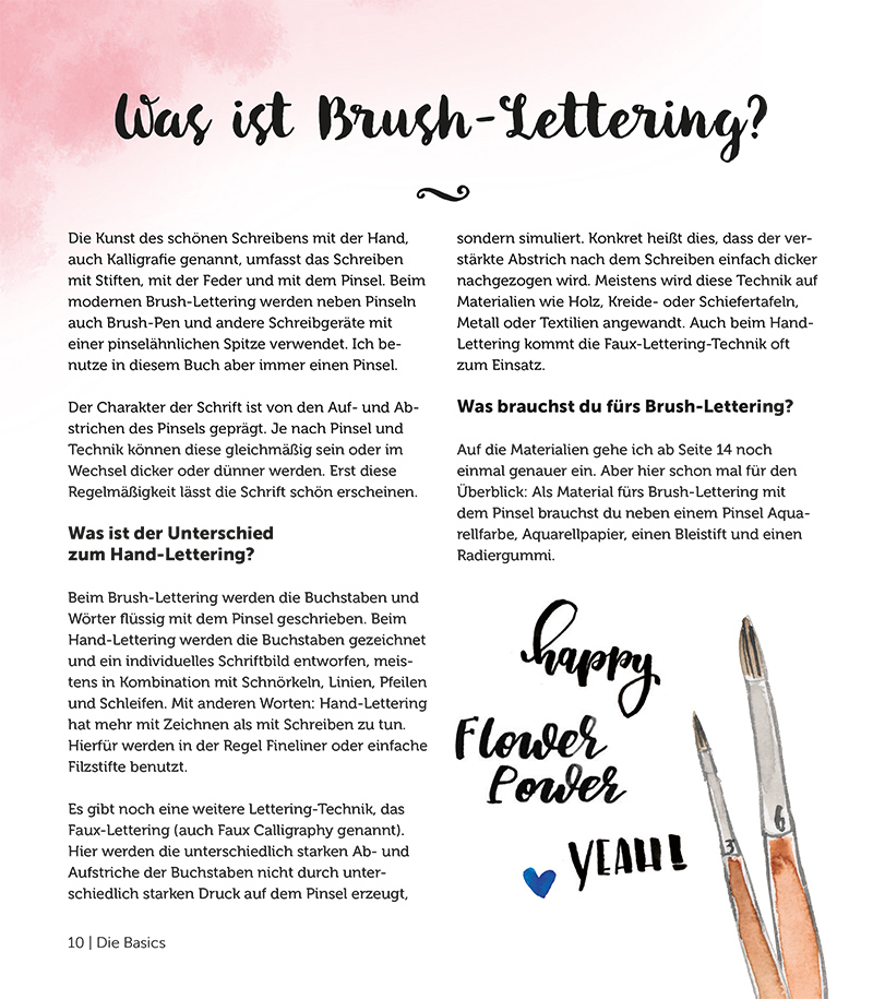 Brushpens fürs Brush Lettering