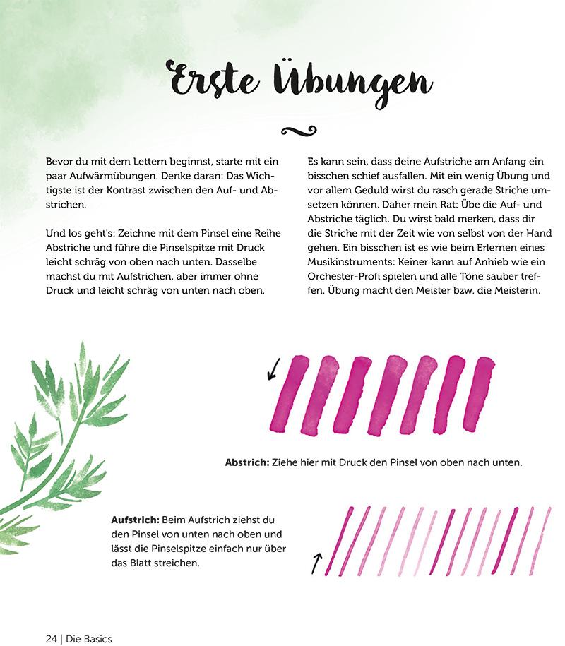 Letteringanfänger Letteringübungen Letteringbuch