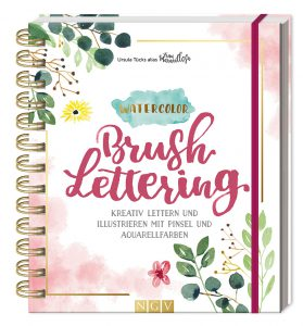 Letteringbuch Watercolorbch Watercoloranleitung