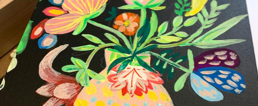 Mein neuestes Steckenpferd: Moderne Bauernmalerei