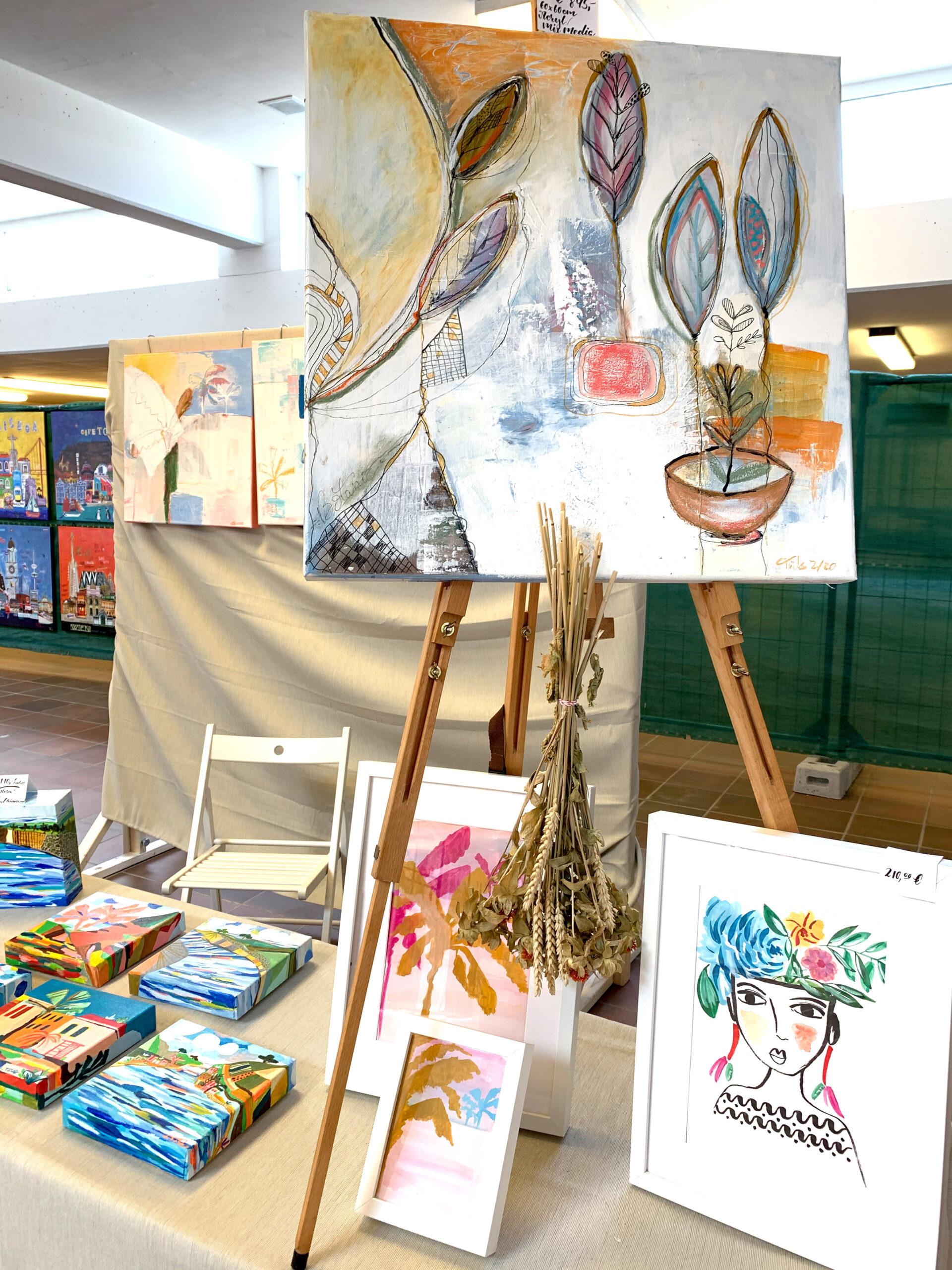 Kunstmesse Acrylwerke Kunstwerke
