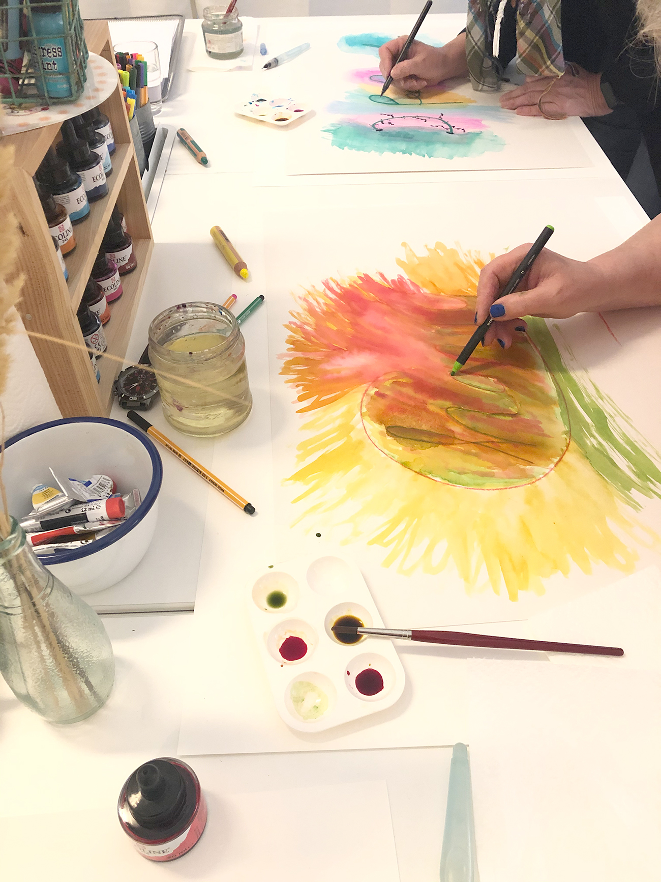 freies Malen für deine eigenen Kreativität