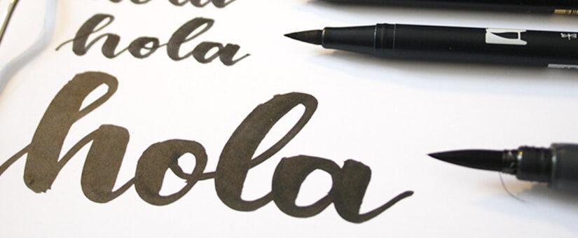 Brush Lettering einfach und bequem erlernen