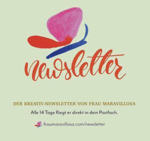 Kreativ-Newsletter von Frau Maravillosa