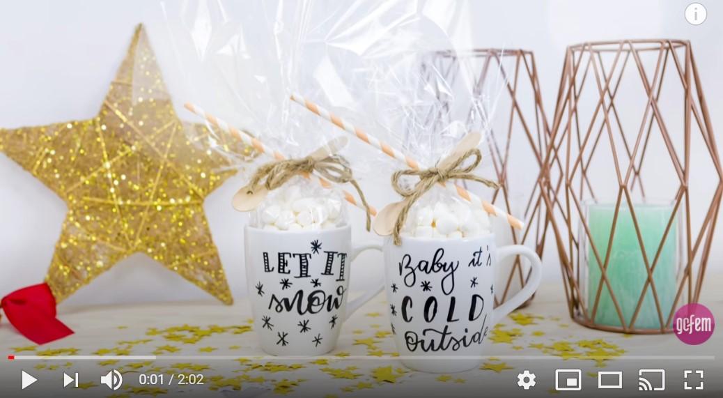 Video-Tutorial: Selbstbemalte Tassen als perfektes Weihnachtsgeschenk