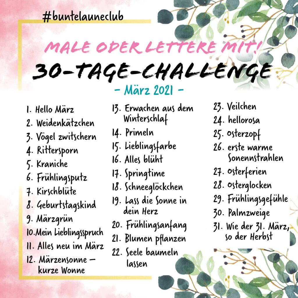 Bunte Laune Club Challenge