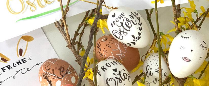 Lettering für Ostern: So gestaltest du Ostereier und Osterkarten