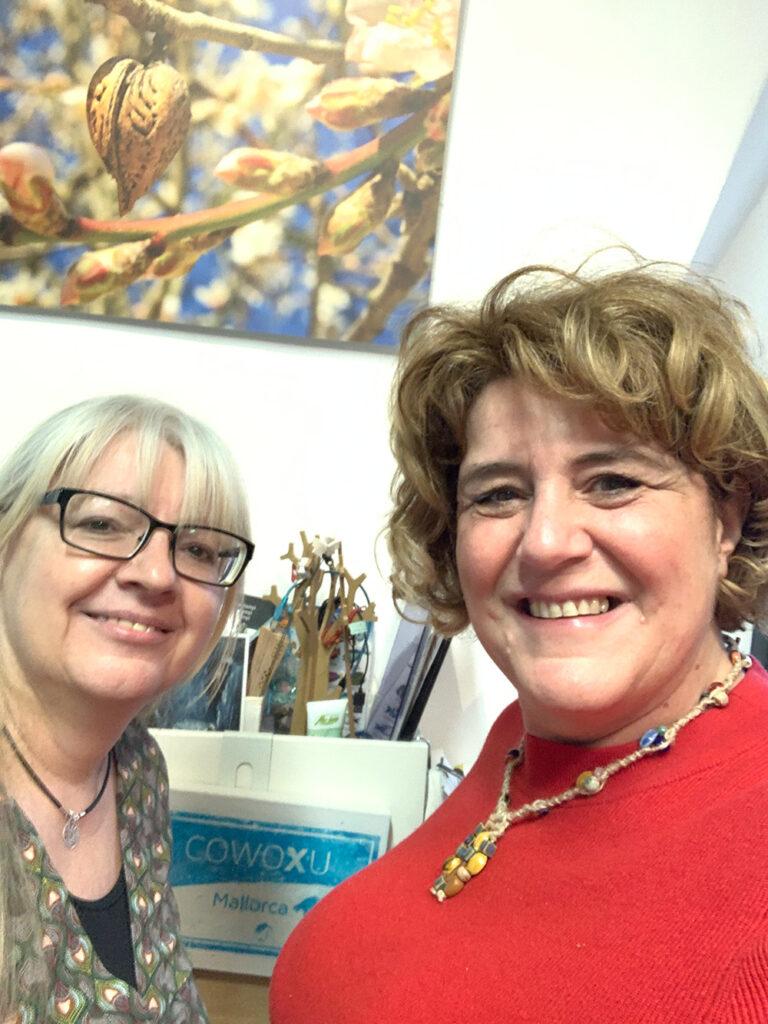 Das bin ich gemeinsam mit Doris – in Sachen Networking kann ich von ihr noch viel lernen!