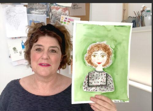 Im Club erkläre ich dir den kompletten Prozess des Porträt-Illustrierens anhand von Video-Lektionen.