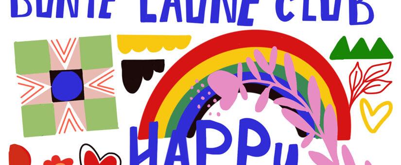 Mein BUNTE LAUNE CLUB feiert ersten Geburtstag
